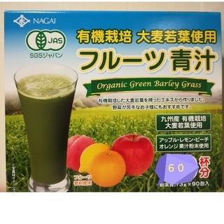 コストコ(コストコ)の有機栽培 フルーツ青汁 60袋(青汁/ケール加工食品)