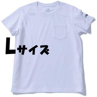 ザノースフェイス(THE NORTH FACE)のセール★Lサイズ★ノースフェイス シンプル ロゴ ポケット Tシャツ 白(Tシャツ(半袖/袖なし))