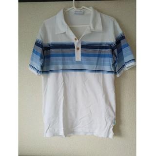 アイパ(AIPA)のAIPA メンズ ボーダー ポロシャツ M サーフ(ポロシャツ)