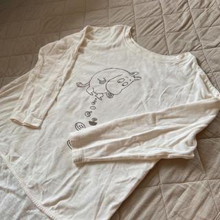 サマンサモスモス(SM2)のムーミンプリントチュニック samansaMos2 サマンサモスモス(Tシャツ(長袖/七分))