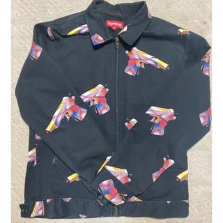 シュプリーム(Supreme)のSupreme 16ss mendini work jacket 黒S(ミリタリージャケット)
