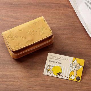 タリーズコーヒー(TULLY'S COFFEE)のTULLY'S COFFEE トムとジェリー カードケース(名刺入れ/定期入れ)