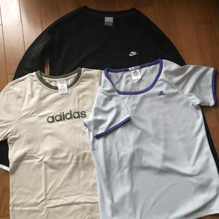 アディダス(adidas)のナイキ、adidasシャツ3枚セット(シャツ/ブラウス(長袖/七分))