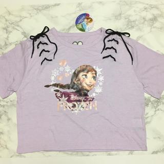 ディズニー(Disney)の即購入OK!新品タグ付 レディース ディズニー プリンセス アナ トップス(Tシャツ(半袖/袖なし))