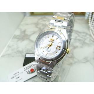オリエント(ORIENT)の未使用品 オリエント ORIENT クリスタル レディース クォーツ(腕時計)