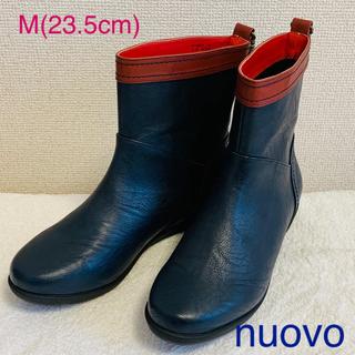ヌォーボ(Nuovo)のnuovo レインブーツ ネイビー(レインブーツ/長靴)