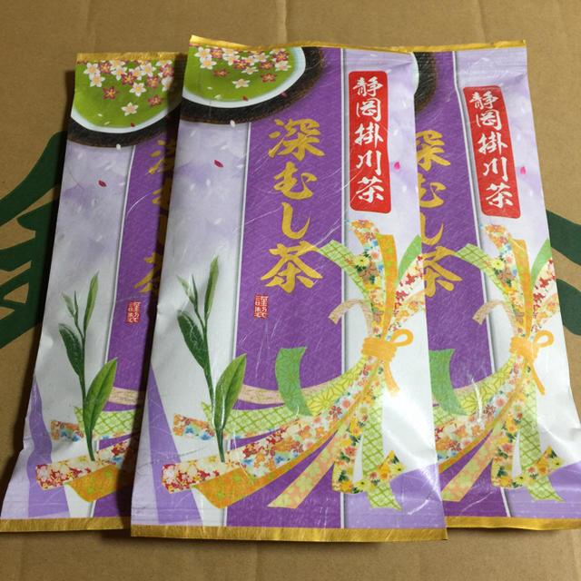 送料込⭐️定価3240円紫3本 深むし茶 食品/飲料/酒の飲料(茶)の商品写真