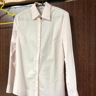 ピンクストライプシャツ長袖(シャツ/ブラウス(長袖/七分))