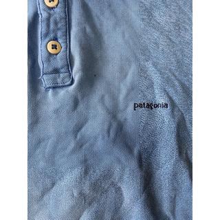 パタゴニア(patagonia)のpatagonia ポロシャツ L vintage llbean ノース(ポロシャツ)