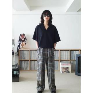 サンシー(SUNSEA)の【SUNSEA】サンシー SNM-BLUE-POLO サイズ3 ブラック(ポロシャツ)