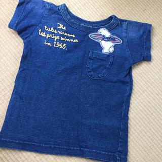 エフオーキッズ(F.O.KIDS)のF.O KIDS  インディゴ 半袖Tシャツ  80(Tシャツ)