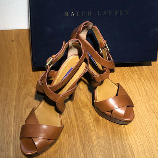 ラルフローレン(Ralph Lauren)の●未使用●ラルフローレン 靴 ミュール(サンダル)