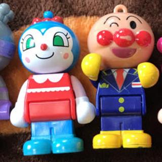 アンパンマン - アンパンマン ブロックラボ 人形
