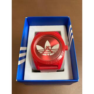 アディダス(adidas)のアディダス adidas  腕時計(赤)(腕時計(デジタル))