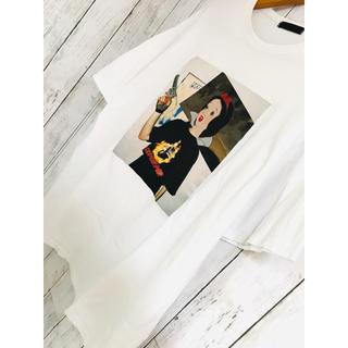 ミルクボーイ(MILKBOY)の嘘や闇銃白雪姫。爆発極限定最高映えATTITシャツディズニー FR2 愚弄 OY(Tシャツ/カットソー(半袖/袖なし))