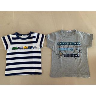 ファミリア(familiar)の【ファミリア 】Tシャツ2枚セット100&110(Tシャツ/カットソー)