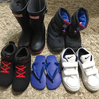 20cm 21 NIKE havahanas HITEC HAWKHNS 長靴