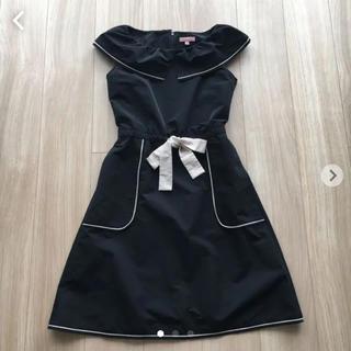 トッカ(TOCCA)のTOCCA トッカ【洗える!】LILY BELL ドレス サイズ00(ひざ丈ワンピース)