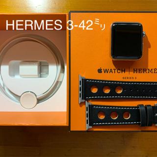 エルメス(Hermes)のみわ様専用 Apple watch エルメス 3ー42㍉(腕時計(デジタル))