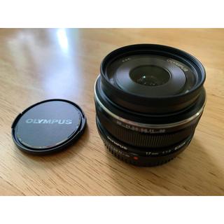 オリンパス(OLYMPUS)のOLYMPUS M.ZUIKO DIGITAL 17mm F1.8 ブラック(レンズ(単焦点))