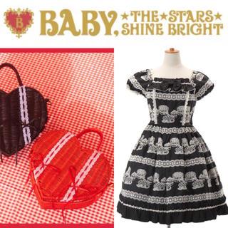 ベイビーザスターズシャインブライト(BABY,THE STARS SHINE BRIGHT)の【BABY】♡フルーツタルトエンブロイダリーOP set +.*(セット/コーデ)