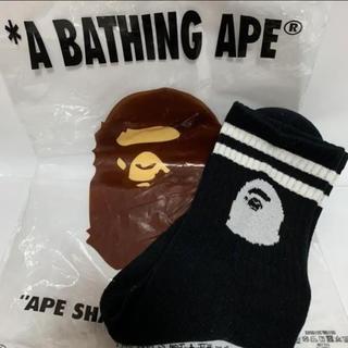 アベイシングエイプ(A BATHING APE)のA BATHING APE LINE SOCKS(ソックス)