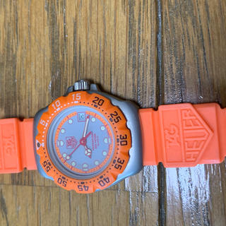 タグホイヤー(TAG Heuer)のタグホイヤー オレンジ レディース 腕時計(腕時計)