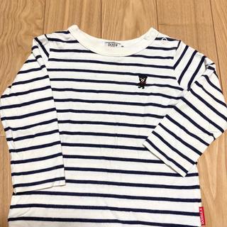 ダブルビー(DOUBLE.B)のダブルビー  80cm  ロンT(Tシャツ)