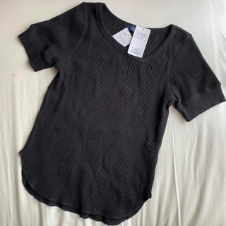 シップス(SHIPS)のSHIPS  2019SS ワッフルアシンメトリーショートスリーブ Tシャツ (Tシャツ(半袖/袖なし))