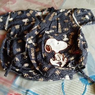 スヌーピー(SNOOPY)のbaby 服  甚平70㌢【¥500→¥400】(甚平/浴衣)