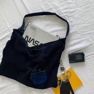 アンユーズド(UNUSED)のunused 1LDK 別注 mesh bag(ショルダーバッグ)