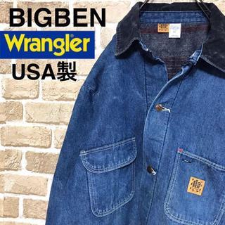 ラングラー(Wrangler)の【ビッグベン】ラングラー USA製 デニムカバーオール インナー 4ポケット(カバーオール)
