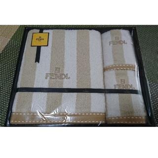 フェンディ(FENDI)のお値下げ☆FENDIタオルセット☆新品(タオル/バス用品)