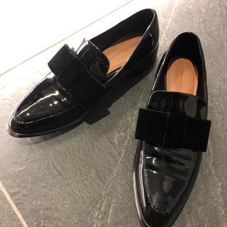 ZARA - ザラ リボンローファー 靴 39