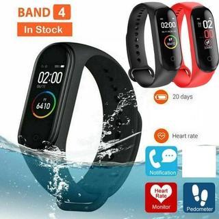 M4 スマートバンド フィットネストラッカー腕時計(腕時計(デジタル))