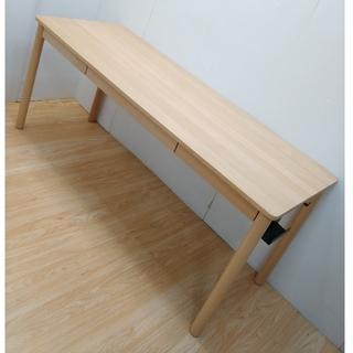 ムジルシリョウヒン(MUJI (無印良品))のここあ*様専用 ブナ材 天然木 無印 ブナ材デスク 160 (学習机)