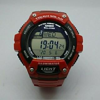 カシオ(CASIO)のCASIO W-S220  タフソーラー(腕時計(デジタル))