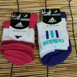 アディダス(adidas)のアディダスの靴下19~21(靴下/タイツ)