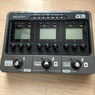 ズーム(Zoom)のzoom G3 本体(エフェクター)