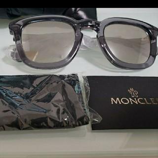 モンクレール(MONCLER)の正規 モンクレール MONCLER ミラー サングラス ラファエル 新品 グレー(サングラス/メガネ)