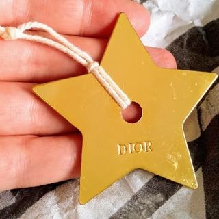 クリスチャンディオール(Christian Dior)の非売品! dior 星型チャーム ゴールドカラー キーホルダー(チャーム)