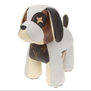 ルイヴィトン(LOUIS VUITTON)の美品 ルイヴィトン モノグラム ドゥドゥ・オスカー ぬいぐるみ 犬 ドッグ(その他)