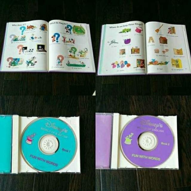 Disney(ディズニー)のDWE ファンウィズワード ディズニー英語 絵本 CD FUN WITH エンタメ/ホビーのCD(キッズ/ファミリー)の商品写真