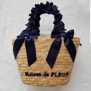 メゾンドフルール(Maison de FLEUR)の新品未使用♡かごバッグ(かごバッグ/ストローバッグ)