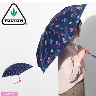 キャスキッドソン(Cath Kidston)のキャスキッドソン♡折りたたみ傘ネイビー(傘)