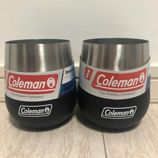 コールマン(Coleman)の【日本未発売】コールマン ステンレスワイングラス13oz 384ml(タンブラー)