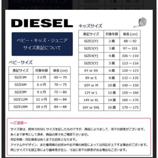 DIESEL - 新品 ディーゼル  トレーナー 170センチ〜175センチ位