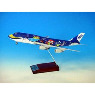 エーエヌエー(ゼンニッポンクウユ)(ANA(全日本空輸))のANA全日空747-400D マリンジャンボ ギア付き JA8963 1/200(模型/プラモデル)