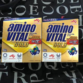 アジノモト(味の素)のアミノバイタルゴールド 2箱  未開封(アミノ酸)
