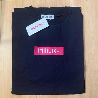 ミルクフェド(MILKFED.)の新品☆ミルクフェド Tシャツ ワンピース(ひざ丈ワンピース)